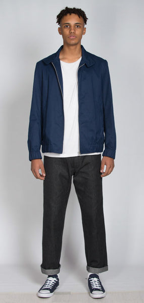 Dark blue Harrington Jacket
