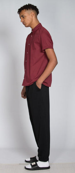 Short sleeve Burgundy shirt