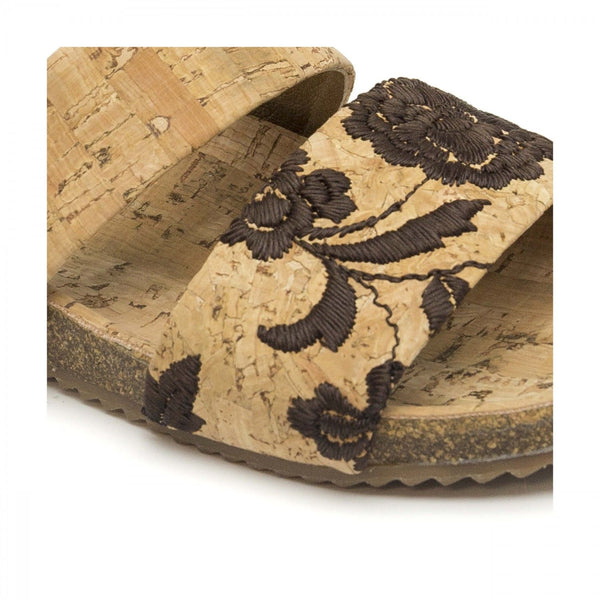 HADIR – FLAT SANDAL MADE OF CORK