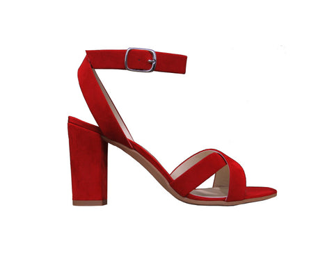 Calliope Sandal Red