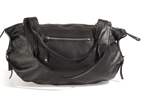 LARGE BLACK BAG PARIS CHERI