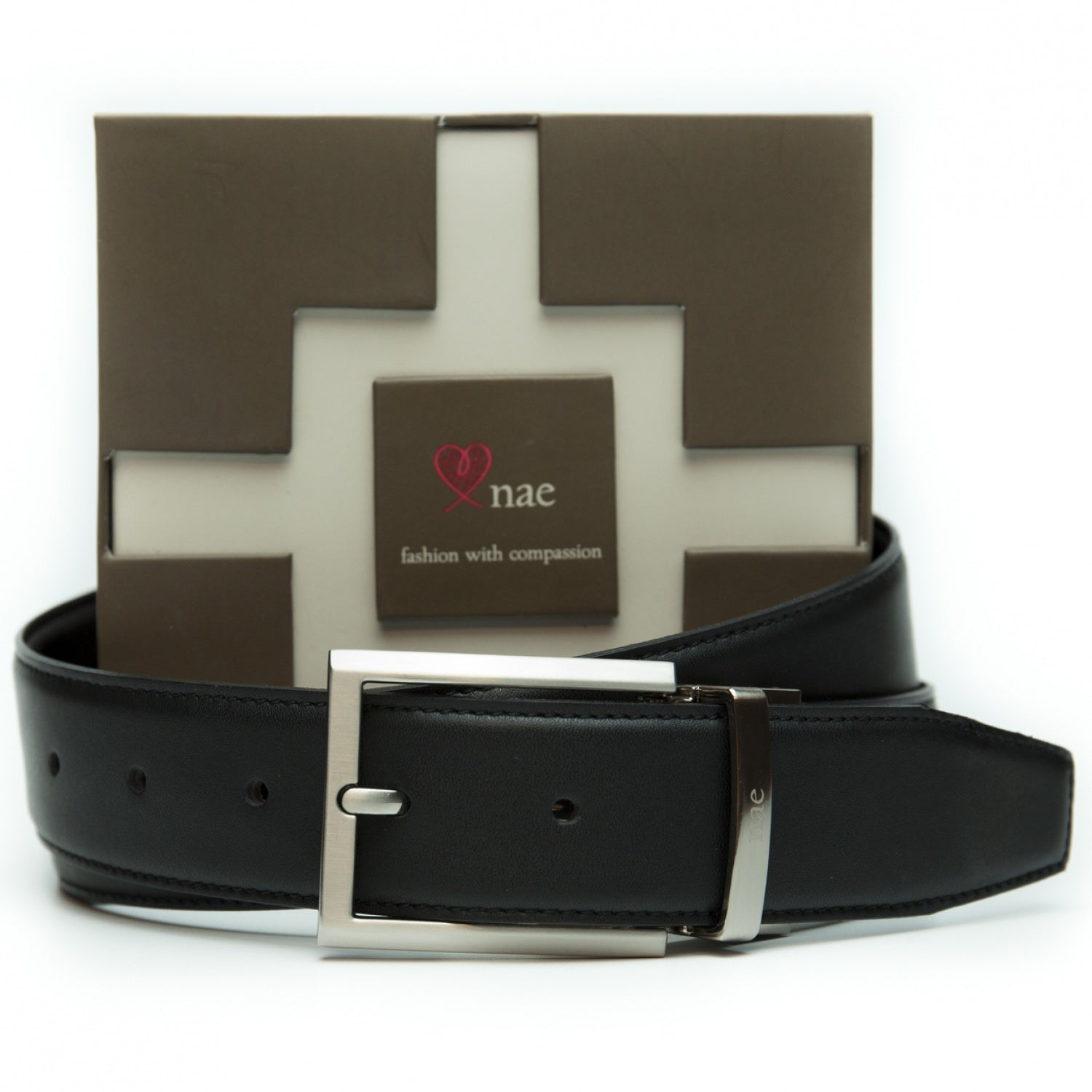 Men Reversible Belt Rubi