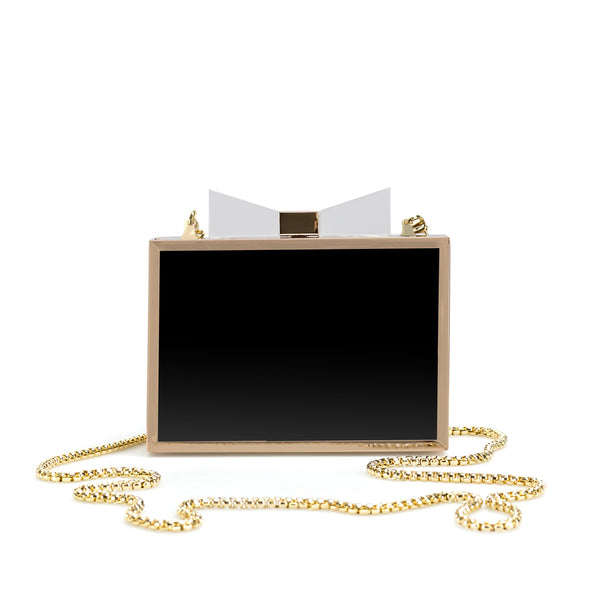 Idol Black clutch bag