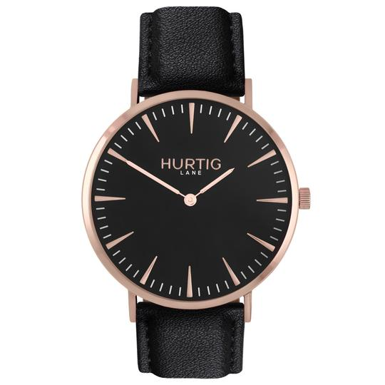 MYKONOS MEN'S WATCH, ROSE GOLD/BLACK/BLACK