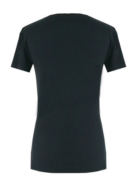 ORGANIC BAMBOO T-SHIRT IN BLACK