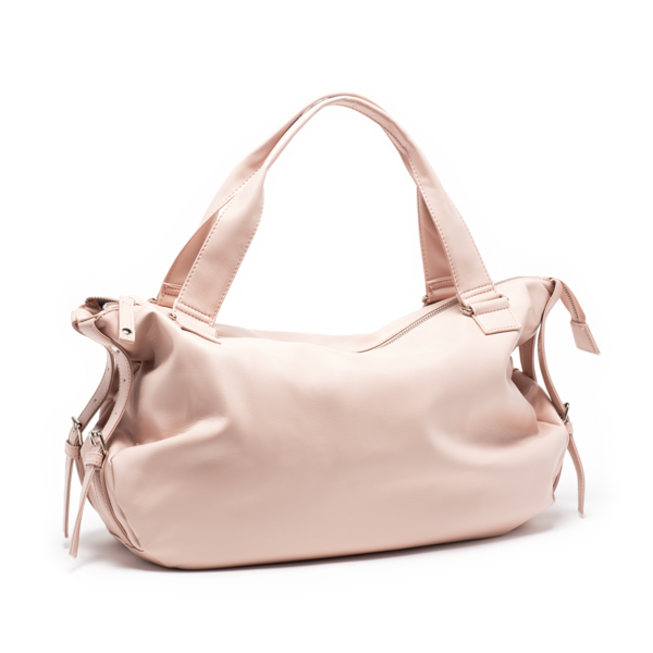 LARGE POWDER PINK BAG PARIS CHERI