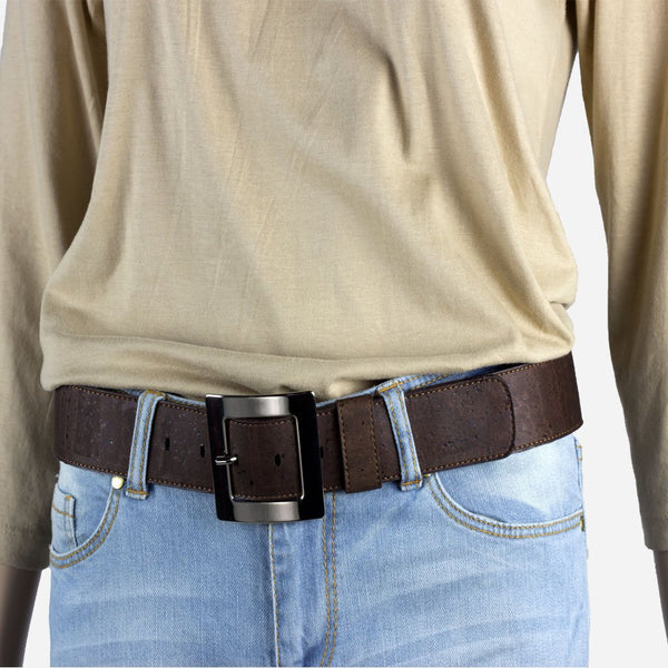 CORK BELT WOMEN 40MM-BROWN