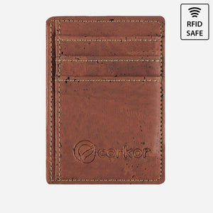 CARDS WALLET RFID SAFE-RED