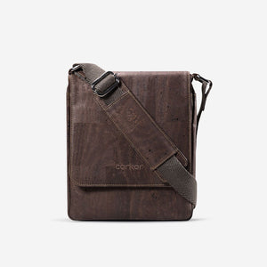 MESSENGER BAG MEDIUM-BROWN