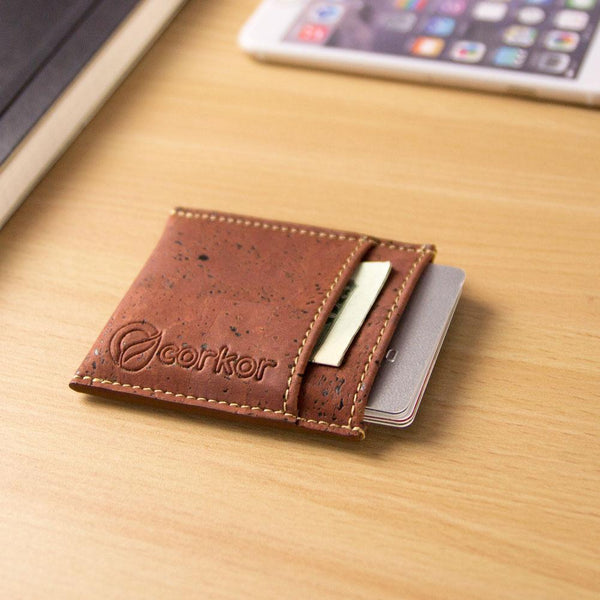MINIMALIST CARDS WALLET-RED