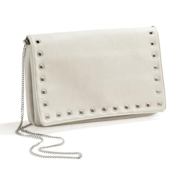 PARIS BY NIGHT SAND EVENING CLUTCH