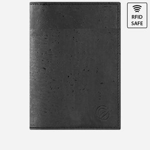 PASSPORT WALLET-BLACK