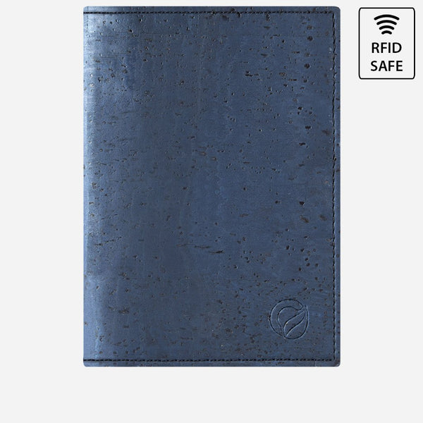 PASSPORT WALLET-BLUE