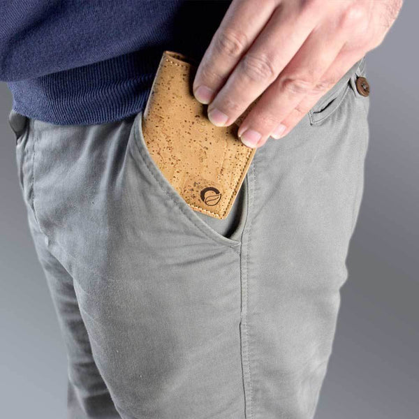 MINIMALIST WALLET-LIGHT BROWN