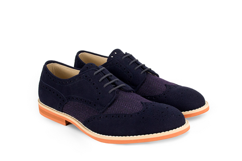 Derby Rea - Tweed Blue Violet