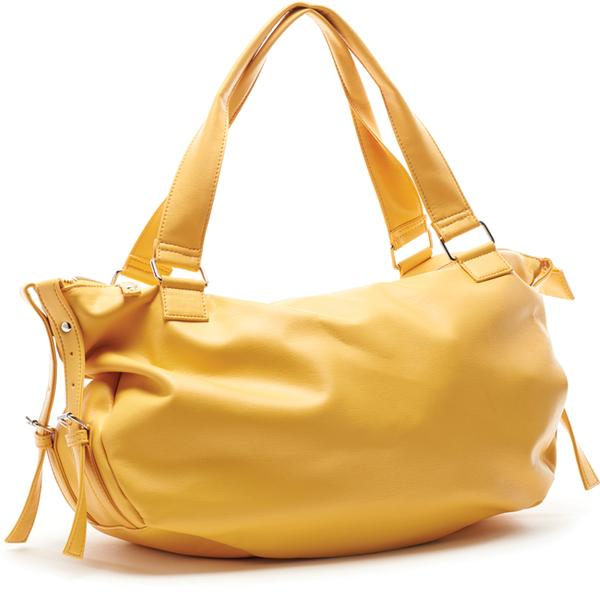 LARGE YELLOW BAG PARIS CHERI