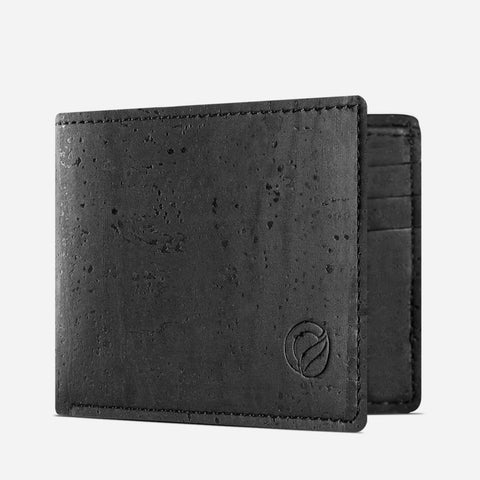 SLIM BIFOLD WALLET-BLACK