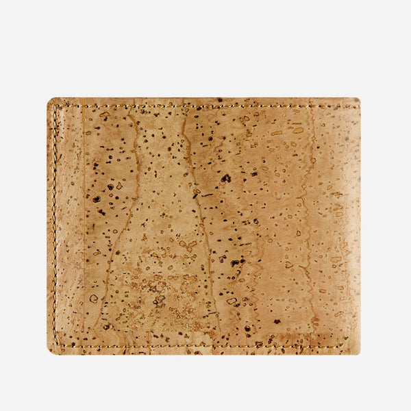 SLIM BIFOLD WALLET-LIGHT BROWN