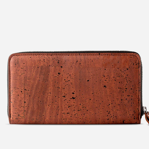 CORK WALLET LONG-RED
