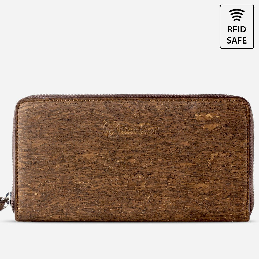 CORK WALLET LONG-TRUNK