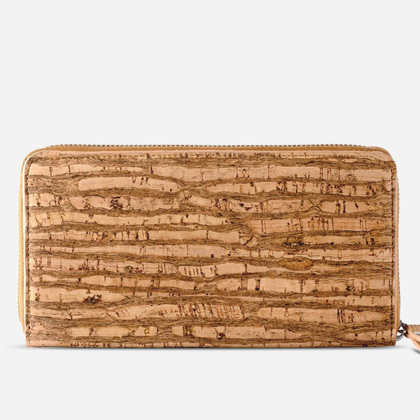CORK WALLET LONG-ZEBRA