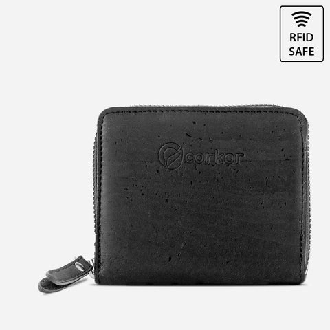 WALLET SQUARE-BLACK