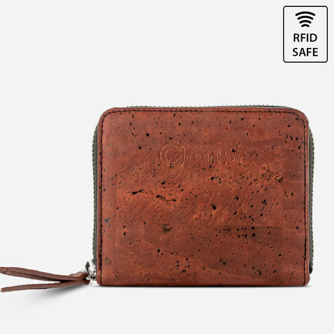 WALLET SQUARE-RED