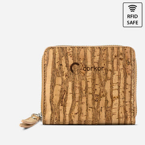 WALLET SQUARE-ZEBRA