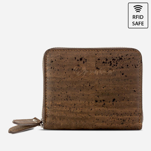 WALLET SQUARE-BROWN