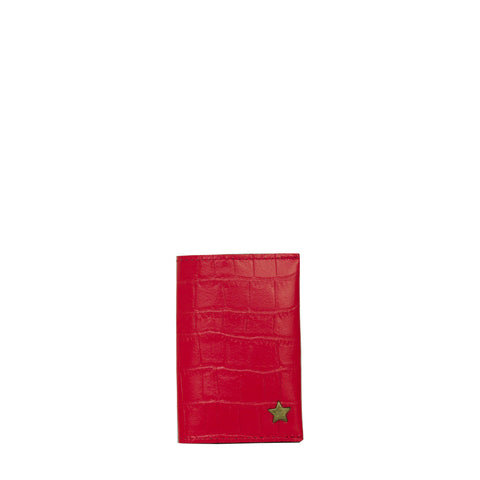Card holder ADEN - Croco red