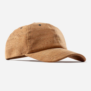 BASEBALL CAP-LIGHT BROWN