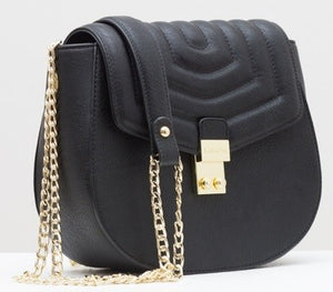Courtney Black Cross-Body Bag - Pre-Order