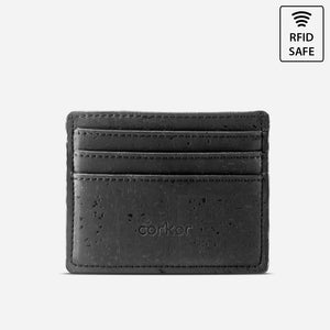 CARD CASE WALLET-BLACK