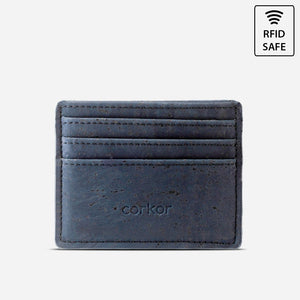 CARD CASE WALLET-BLUE