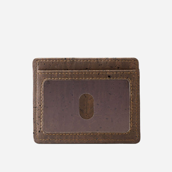CARD CASE WALLET-BROWN