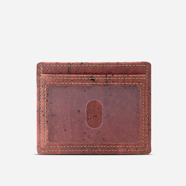 CARD CASE WALLET-RED