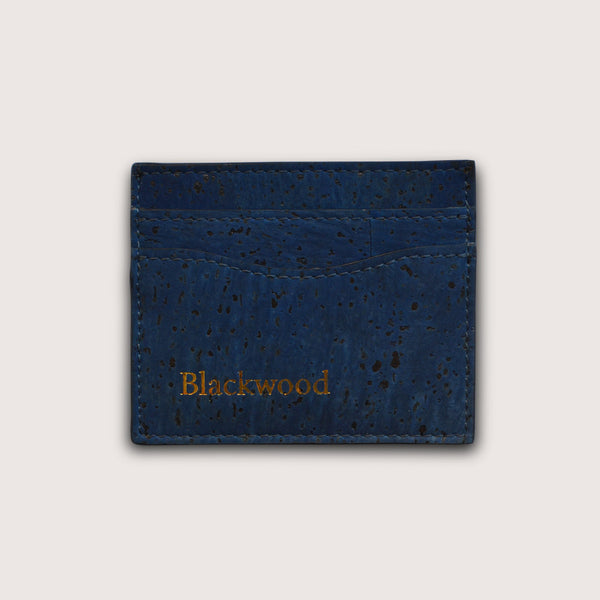 Ultra Slim Card Holder-Deep Sea Blue