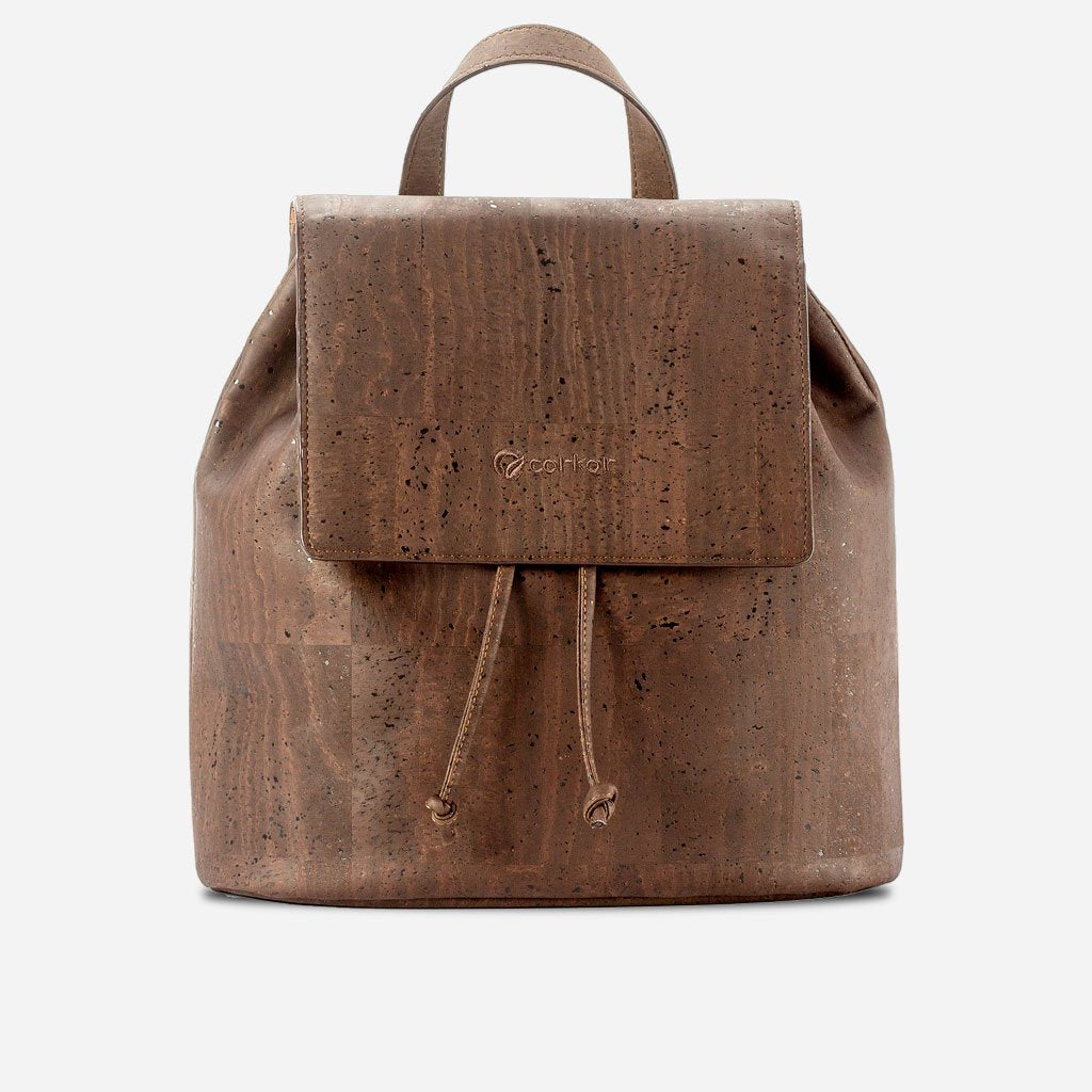 CORK BACKPACK-BROWN