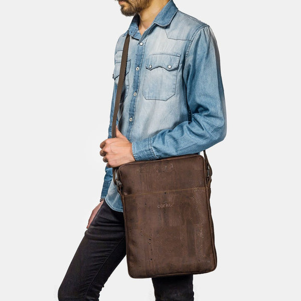 BRIEFCASE MEDIUM-BROWN