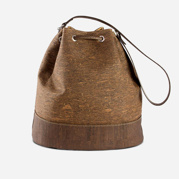 CORK BUCKET BAG-TRUNK