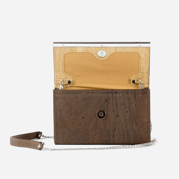 CORK CLUTCH-BROWN