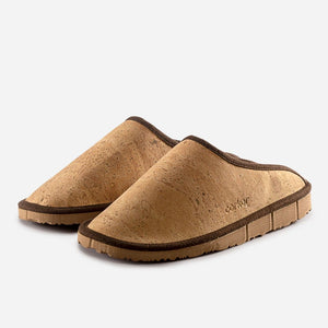 SLIPPERS MEN-LIGHT BROWN