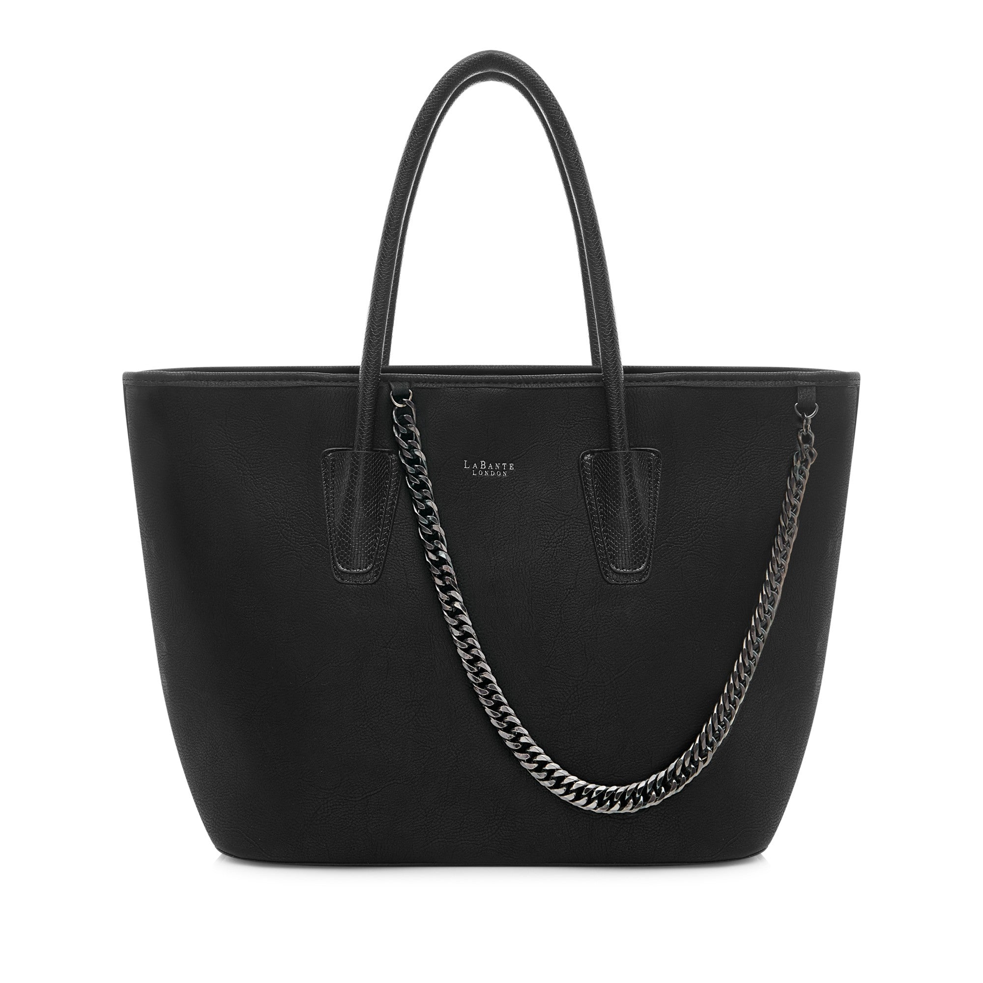 Daria Black Tote Bag