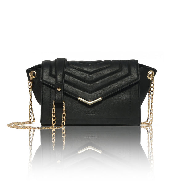 Kensington Black Cross-Body Bag