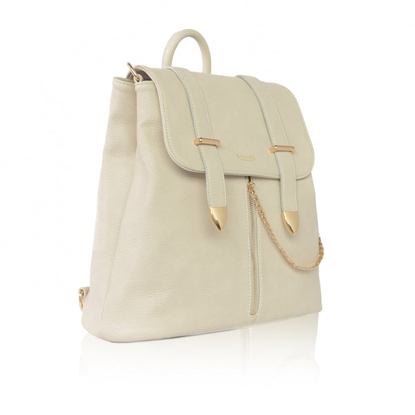 Agnes Off White Backpack