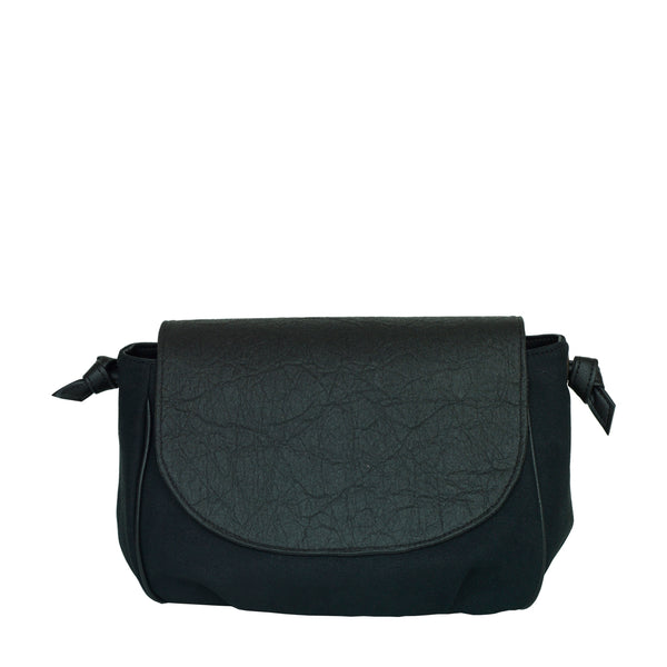 FLORES bag - Piñatex black