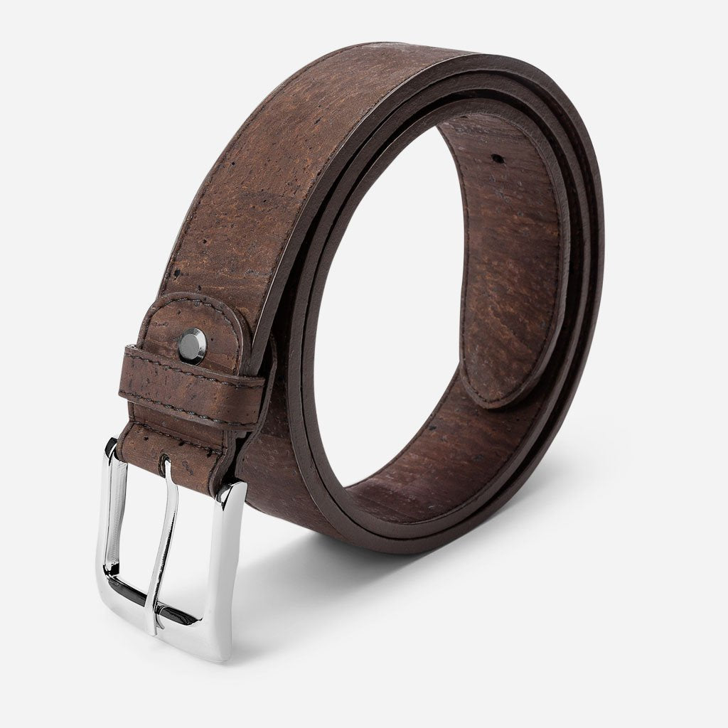 CORK BELT 35MM-BROWN