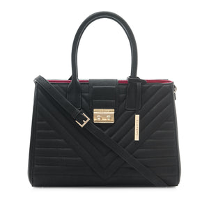 Gwen Black Tote Bag
