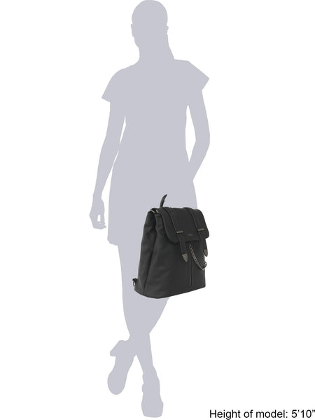 Agnes Black Backpack