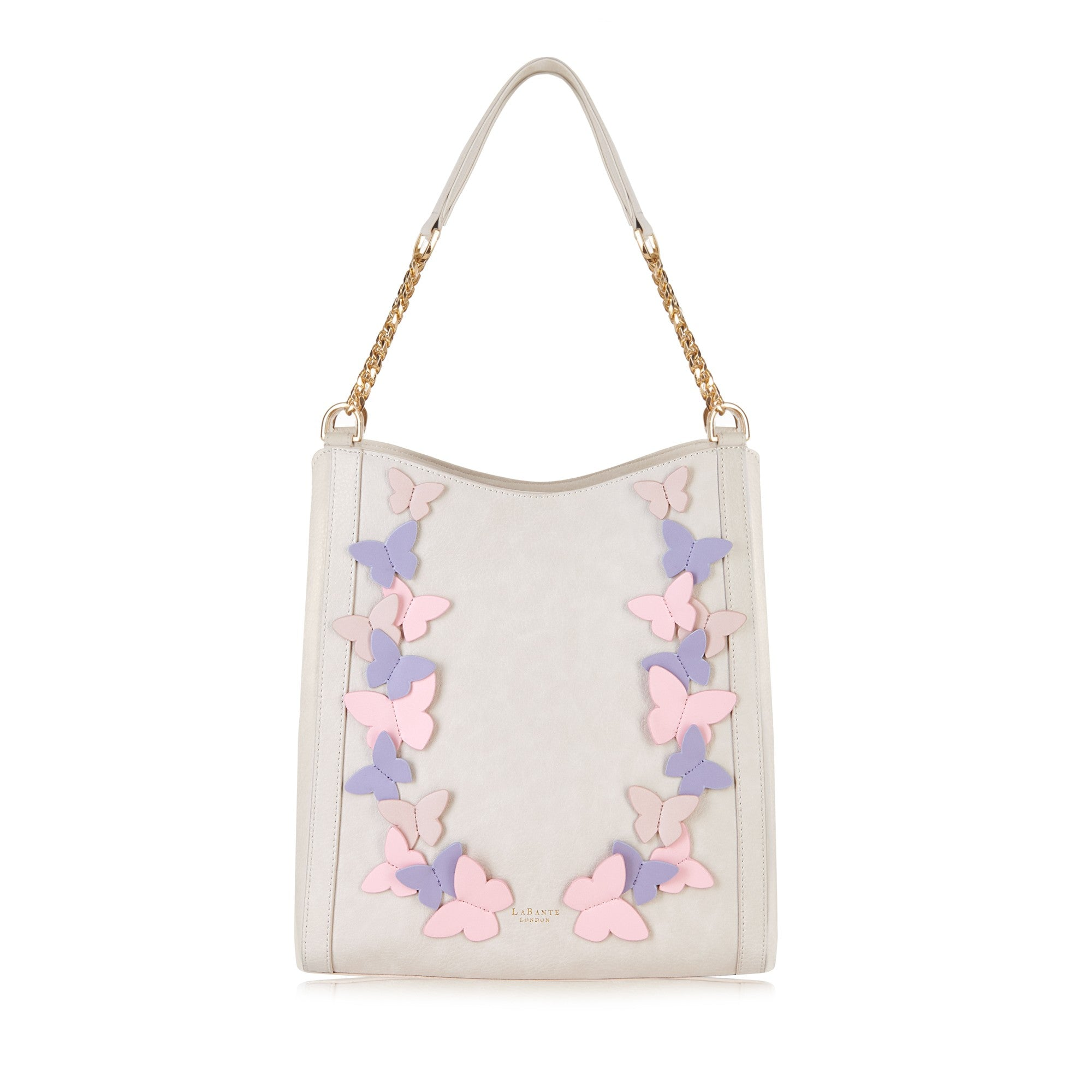 Sylvaine Cream Hobo Bag